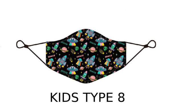 16 2 Kids Face Mask With Design