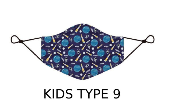 17 2 Kids Face Mask With Design