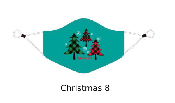 6 Adult CHRISTMAS Face Mask With Design