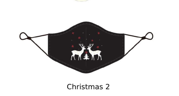 7 Adult CHRISTMAS Face Mask With Design