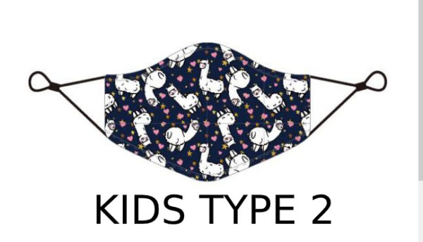 70 3 Kids Face Mask With Design