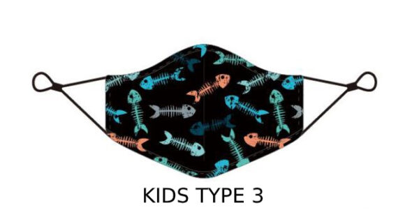 74 2 Kids Face Mask With Design