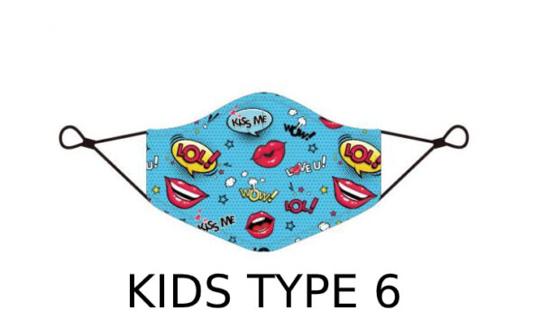 75 2 Kids Face Mask With Design