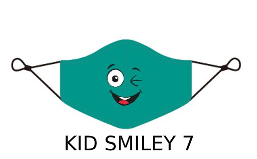 kid 2 1 Kids Face Mask With Design