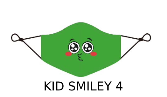 kid 3 1 Kids Face Mask With Design