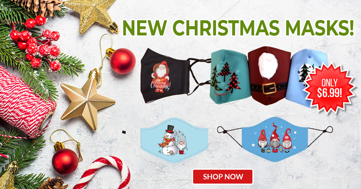New Christmas Masks